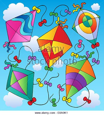 various-flying -kites